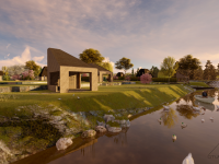 Kako je zamišljen ugostiteljsko-turistički kompleks u Ilijašu - Uz restoran i kućice za smještaj planirano i vještačko jezero (FOTO)