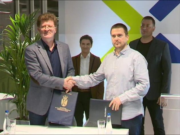Signing of the memorandum