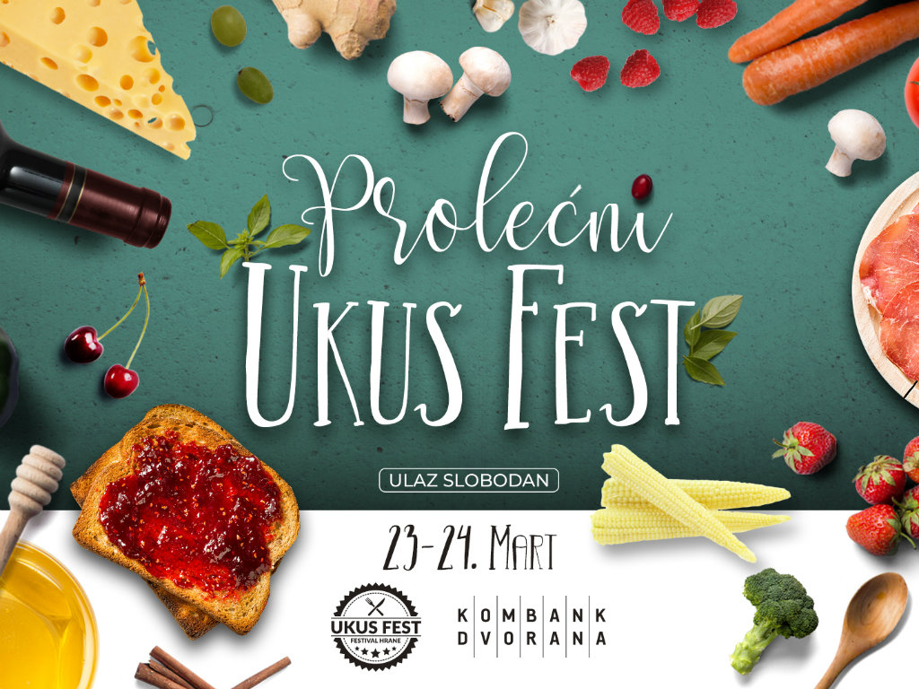 Prolecni Ukus Fest on March 23-24 in Belgrade – Local food and drink festival