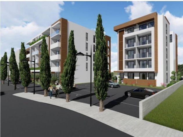 Planirana gradnja stambeno-poslovnog kompleksa u Ulcinju - Tri lamele površine blizu 5.000 m2 imaće 82 stana i poslovne prostore (FOTO)