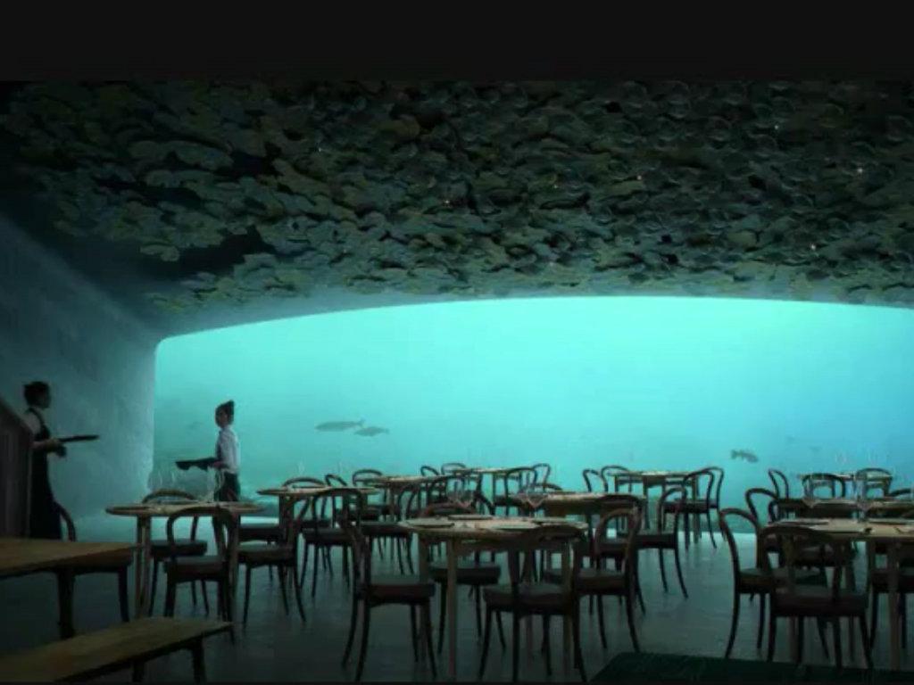 Europas erstes Unterwasserrestaurant eröffnet in Norwegen