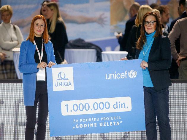 Donacija UNIQA osiguranja UNICEF-u - Milion dinara za podršku predškolskom vaspitanju u Srbiji
