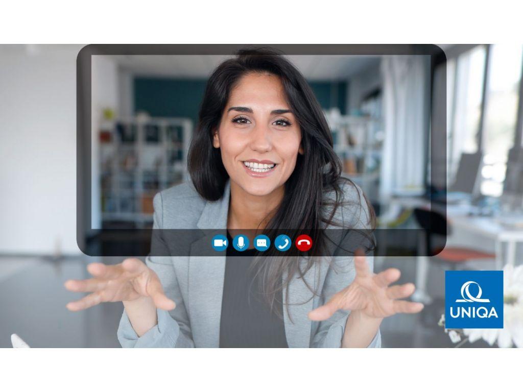 """UNIQA omogućila online """"posete"""" poslovnicama kroz novi servis - Video sastanci sa agentima osiguranja"""