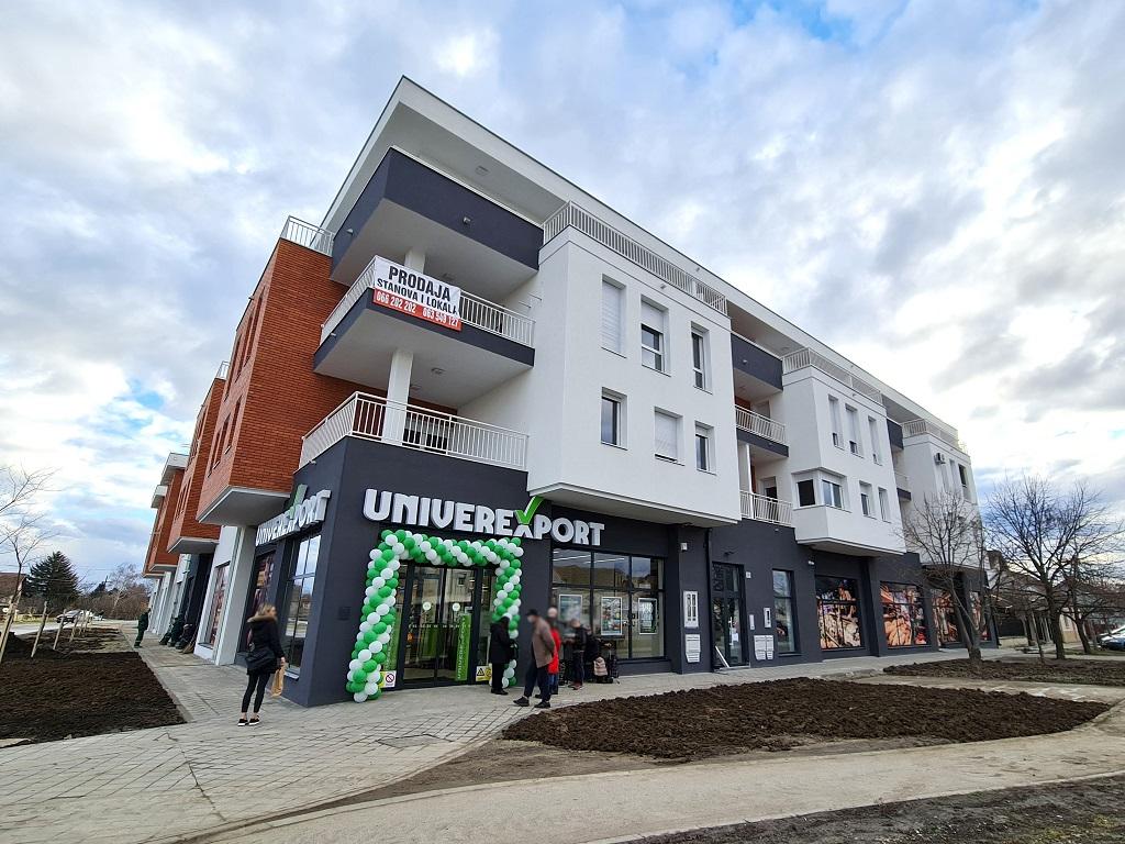 Novi Univerexport u Novom Sadu