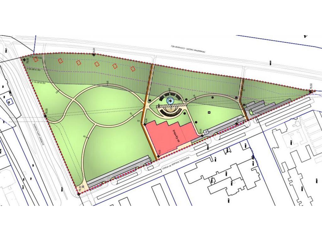 Kako bi mogao da izgleda Univerzitetski park u Novom Sadu - Amfiteatar, fontana, senzorne bašte...
