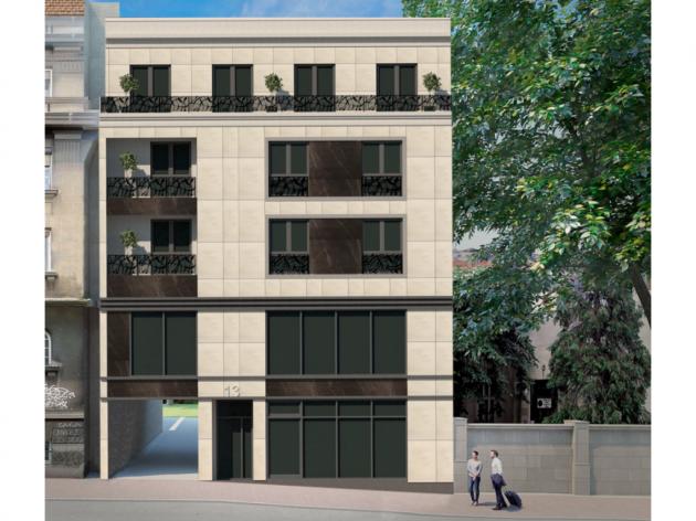 U centru Beograda gradiće se nova zgrada na 3 sprata sa modernim poslovnim prostorom
