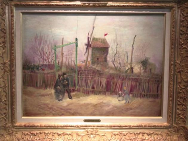 Van Gogova slika Ulična scena na Monmartru prvi put u javnosti