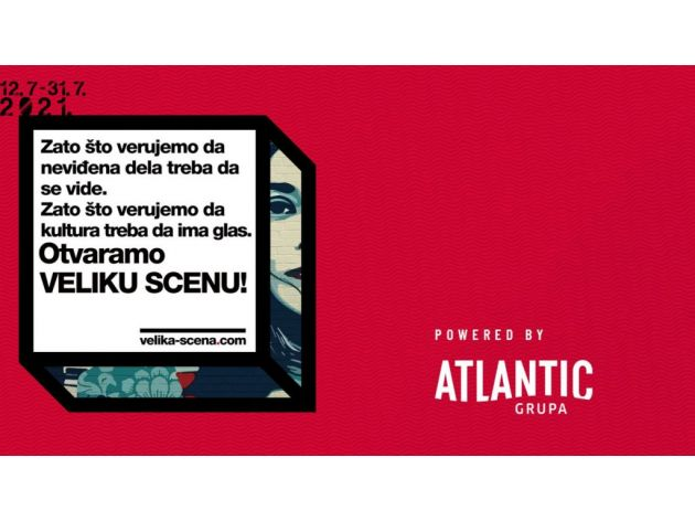 Regionalna web platforma Velika scena Atlantic Grupe promoviše mlade umjetnike i kreativce