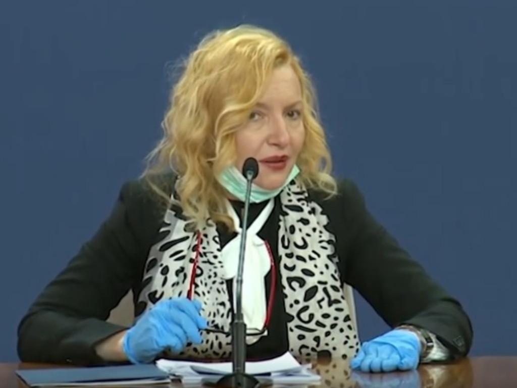 Verica Jovanović, specijalista socijalne medicine, v.d. direktora Instituta Batut - biografija