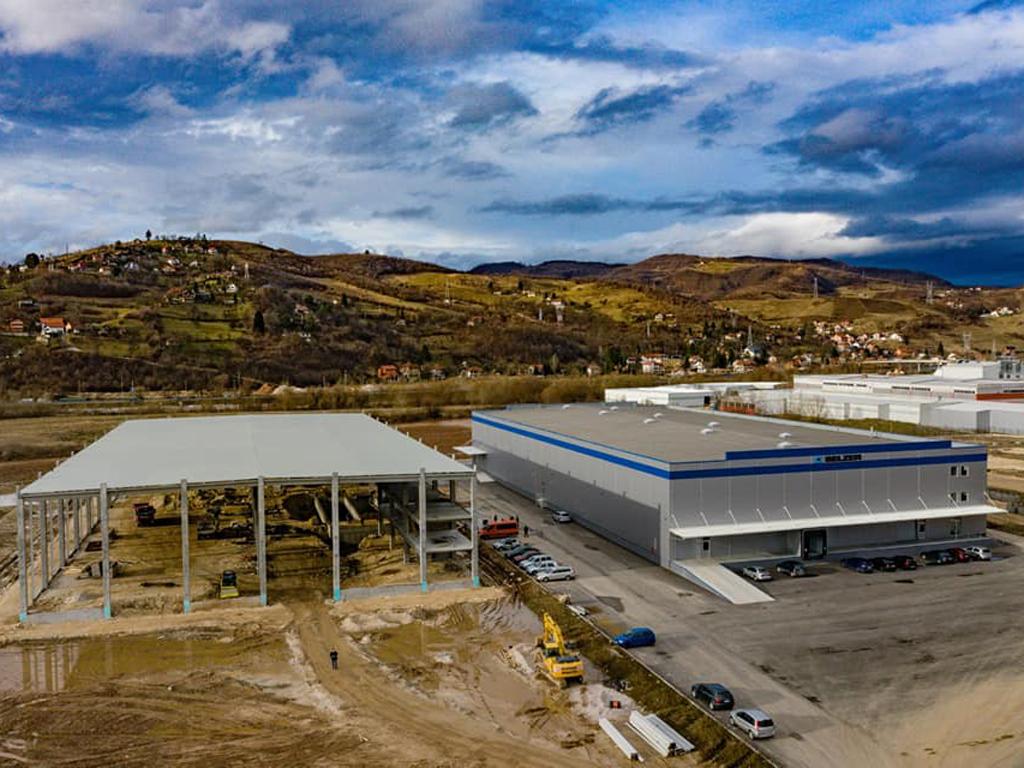 Veritas u Rajlovcu gradi drugi pogon - U planu i treći na 10.000 m2