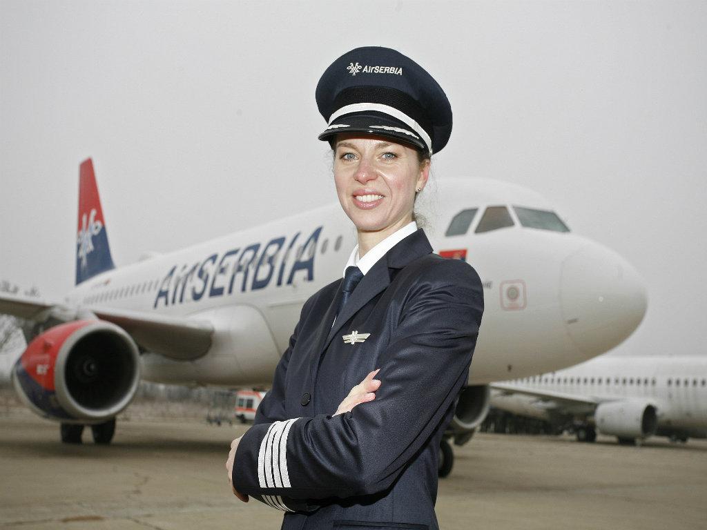 Vesna Aleksić, pilotkinja - Prva žena kapetan u kompaniji Air Serbia