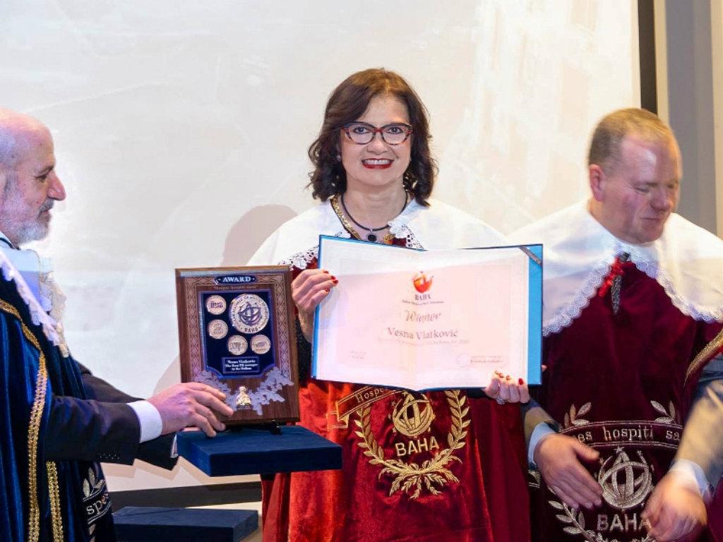 Vesna Vlatković proglašena za najboljeg PR menadžera Balkana