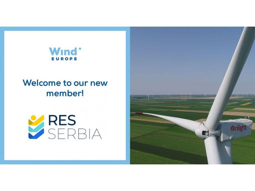 Udruženje Obnovljivi izvori energije Srbije postalo član WindEurope