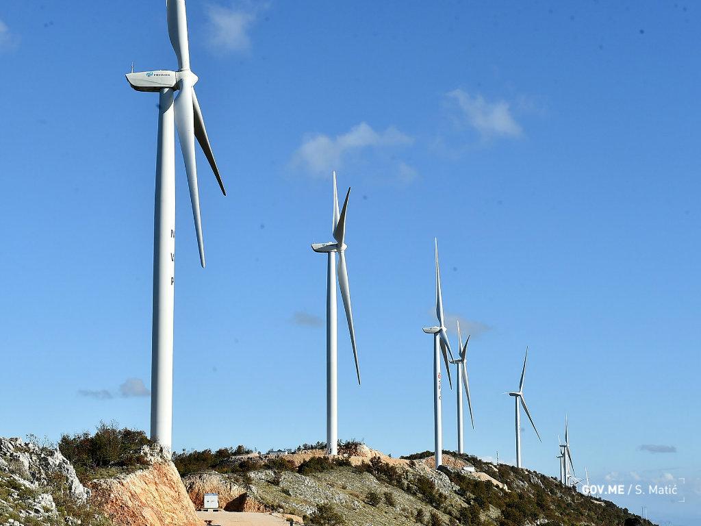 U Crnoj Gori puštena u rad vjetroelektrana Možura - Investicija vrijedna 90 mil EUR