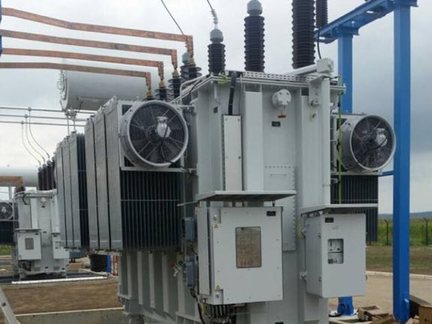 The construction of two power lines, a substation and a switchgear is close to completion at the Kosava wind farm