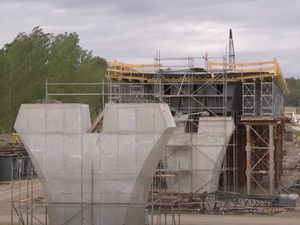 Kompanija RZD International završila izgradnju železničkog vijadukata i tunela Čortanovci