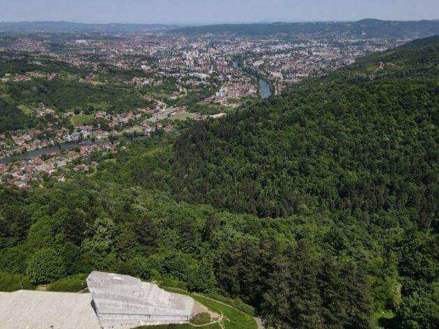 Vidikovac Banj brdo