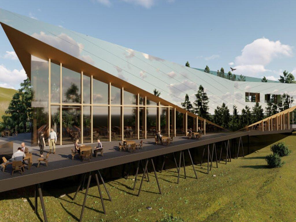 Završetak poslovnog objekta na Trebeviću tokom 2020. - Vidikovac će imati hotel i kongresnu dvoranu (FOTO)