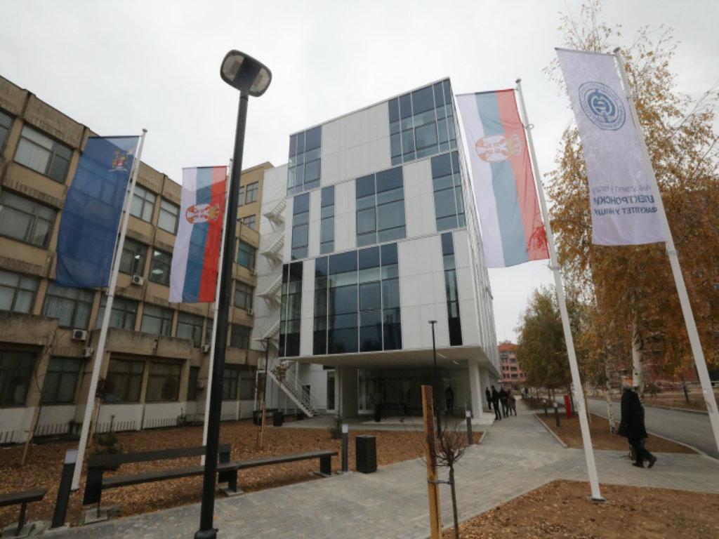 Otvorena višenamenska laboratorijska lamela Elektronskog fakulteta u Nišu na 7.000 m2