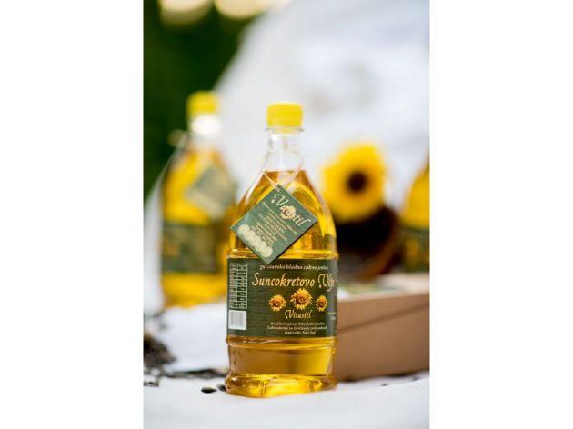 Hlađeno ceđeno suncokretovo ulje