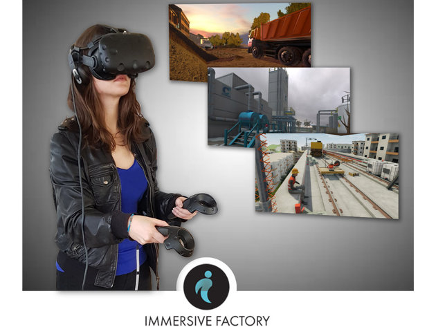 VIVE X kompanija Immersive Factory prikupila 1 mil EUR