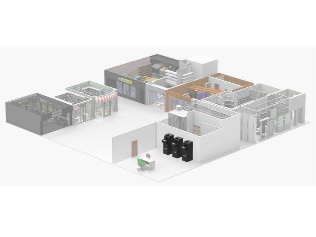 Diese Systeme können auch in Einkaufszentren, Restaurants, Tankstellen und Bushaltestellen installiert werden.