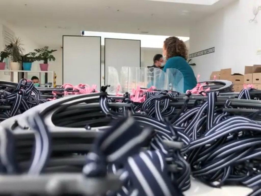 Prijedorska firma MM Plastik počela proizvodnju vizira