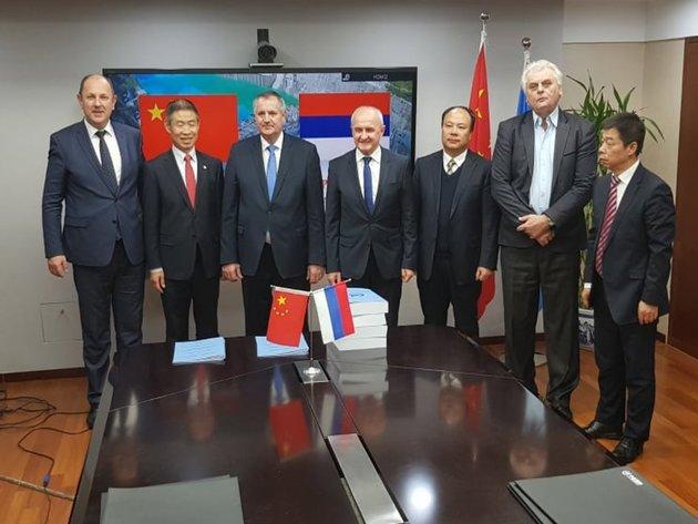Vlada Republike Srpske i kineski AVIC potpisali sporazum o izgradnji tri hidroelektrane u Foči - Kinezi rade i studiju za aerodrom u Trebinju