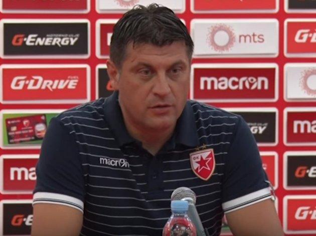 Vladan Milojević, trener Crvene zvezde - Od juniorskih šampiona do Lige Evrope