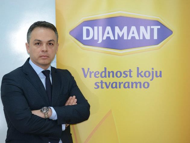 Vladimir Milović, predsednik uprave kompanije Dijamant - Jubilej kao potvrda kvaliteta
