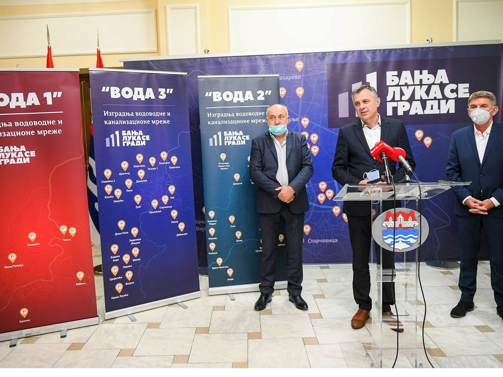 Konzorcijum Hidrokop i MG Mind gradiće nove kilometre vodovodne mreže u Banjaluci - Nastavak projekta Voda 2 težak 5 mil EUR
