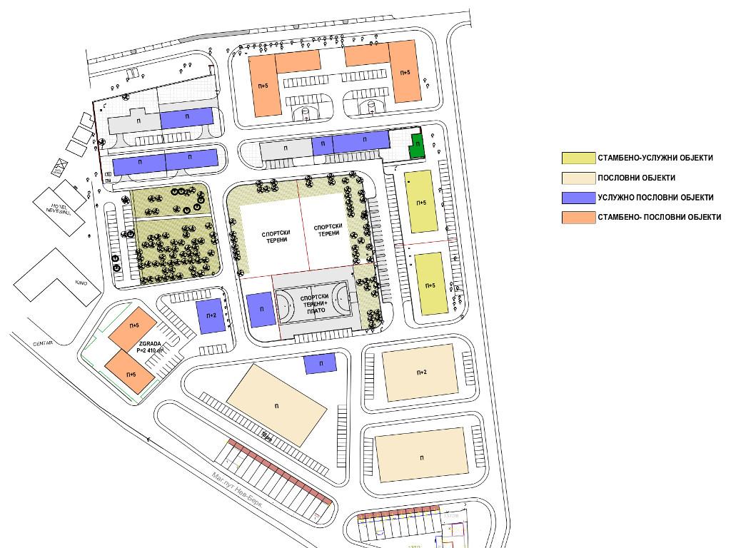 U centru Nevesinja niče stambeno-poslovni kompleks na 53.000 m2 - Na prostoru bivše kasarne predviđen i sportsko-kulturni centar