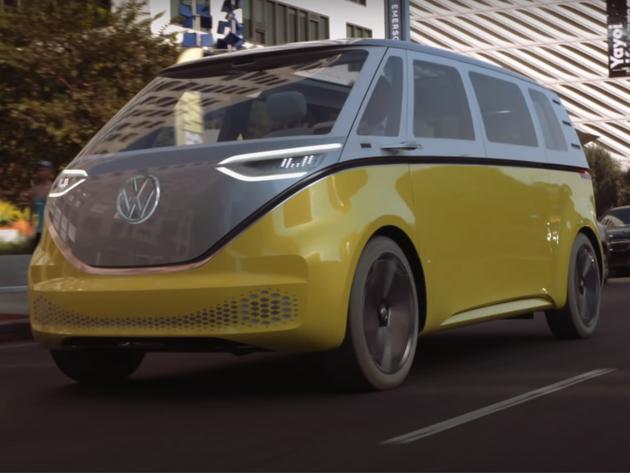 Volkswagenov novi električni kombi ID. BUZZ