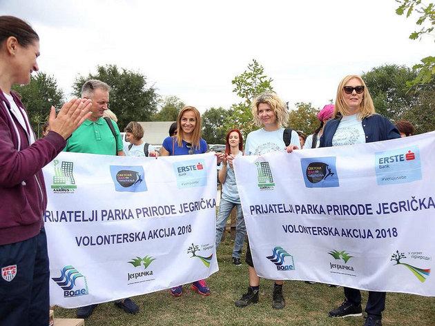 Volonteri udahnuli novi život Parku prirode Jegrička na Svetski dan čišćenja