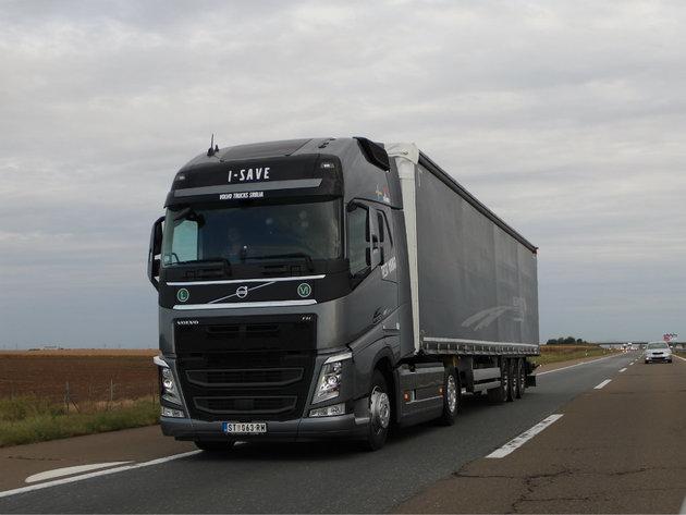 Volvo FH s tehnologijom I-SAVE - Najštedljiviji Volvo kamion do sada