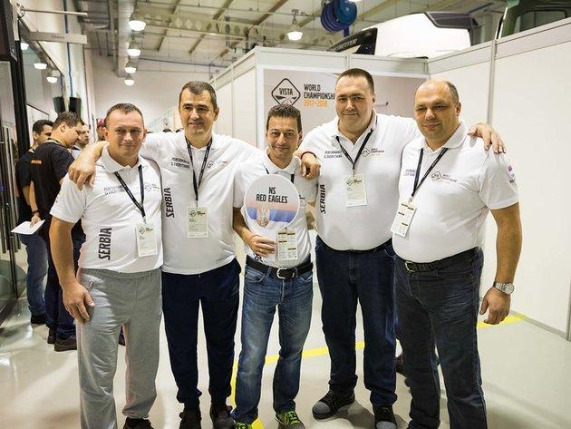 Ekipa Volvo centra Novi Sad učestvovala na svetskom finalu takmičenja VISTA u Brazilu