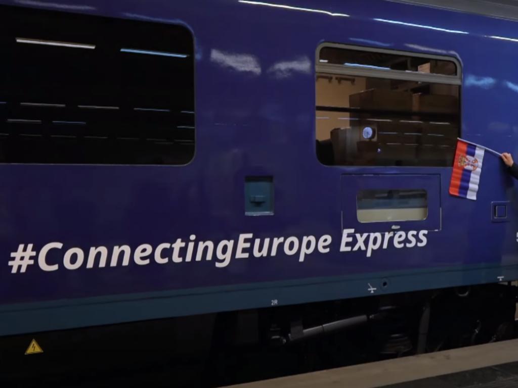 Međunarodni voz Connecting Europe Express stigao u Beograd