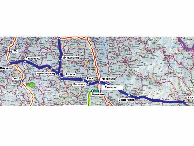 Mapa auto-puta