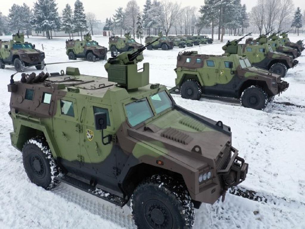 Deset novih oklopnih borbenih vozila Miloš 4x4 za 72. brigadu za specijalne operacije