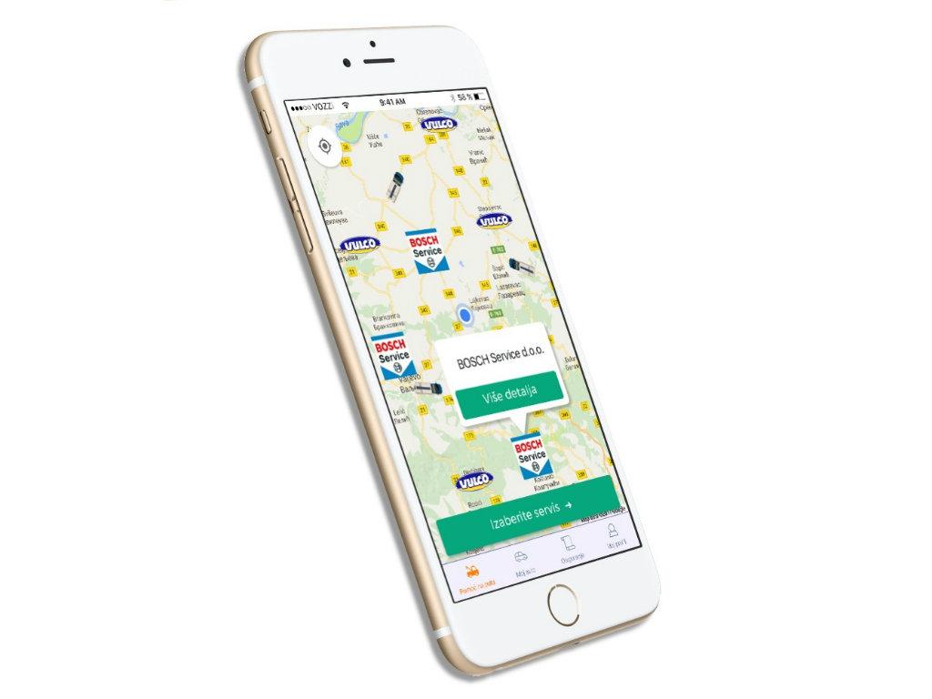 (NOMINACIJA ZA NAGRADU AUREA 2019): VOZZi - Mobilna aplikacija za pomoć na putu