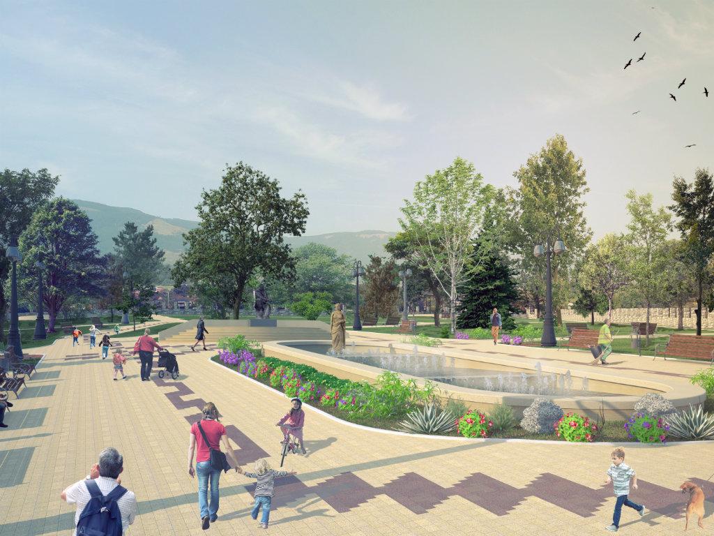 Otvoren rekonstruisani Gradski park u Vranju