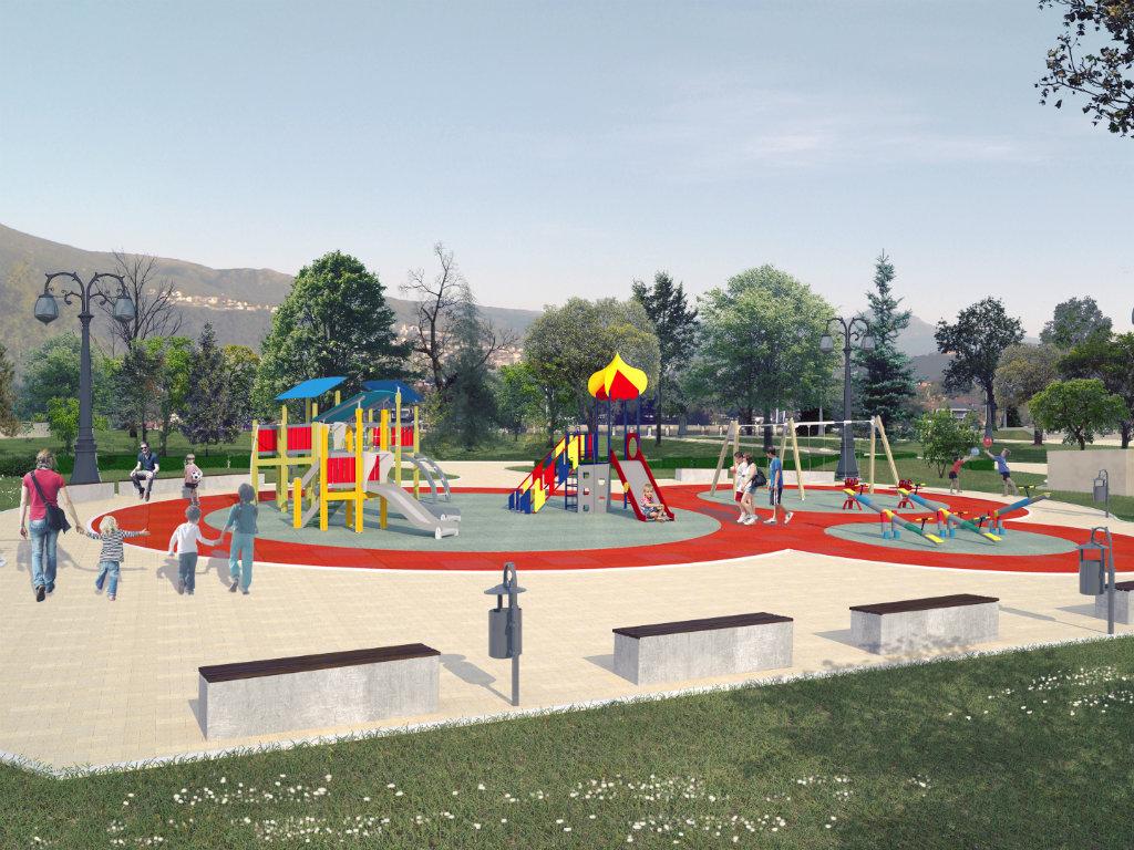 Počela rekonstrukcija Gradskog parka u Vranju - Vrednost prve faze radova 51,55 miliona dinara
