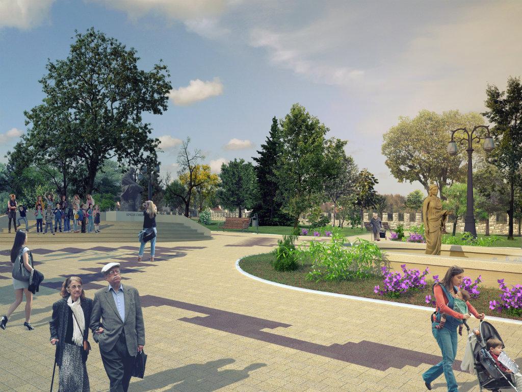 Građevinski radovi u Gradskom parku u Vranju biće završeni do Uskrsa