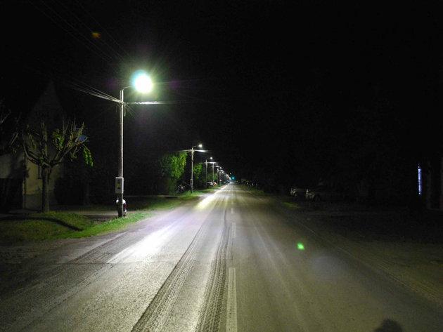 Javna rasveta nakon postavaljanja novih LED svetiljki