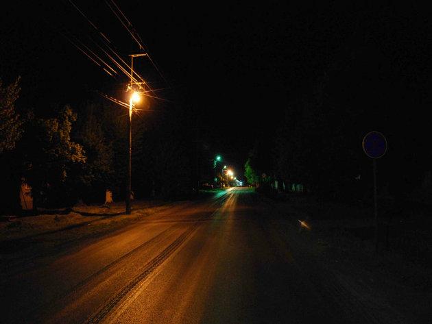 Javna rasveta pre postavaljanja novih LED svetiljki