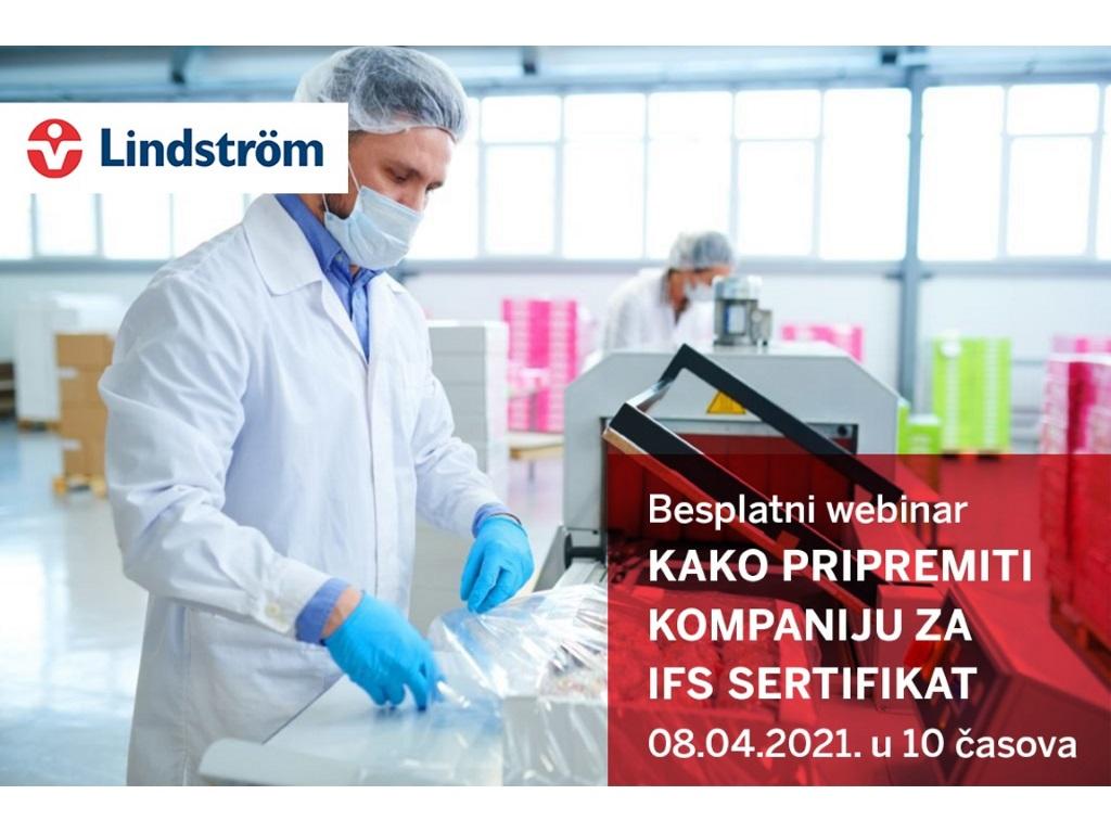 Nenad Božović, direktor Lindstrom Srbija - Značaj radnih odela za proizvodni proces u prehrambenoj industriji