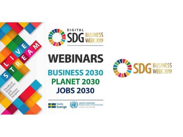 Dodjela nagrada liderima održivog razvoja u BiH 12. juna u okviru SDG Business Week-a