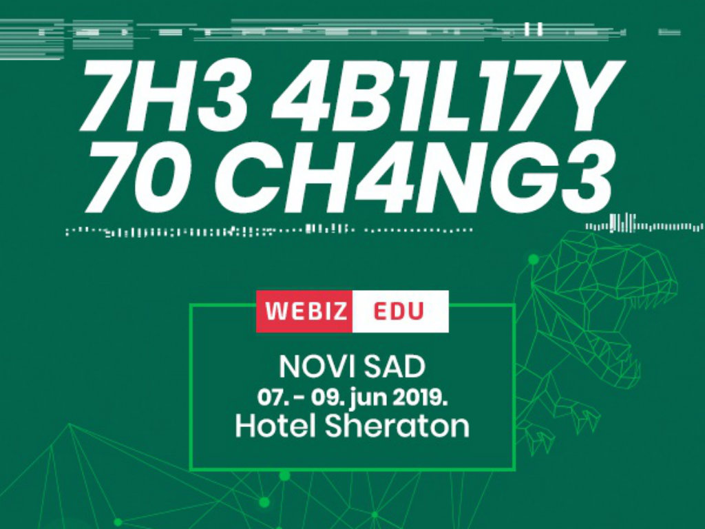 Webiz edukacija od 7. do 9. juna u Novom Sadu - Proverite kolika je vaša sposobnost prilagođavanja