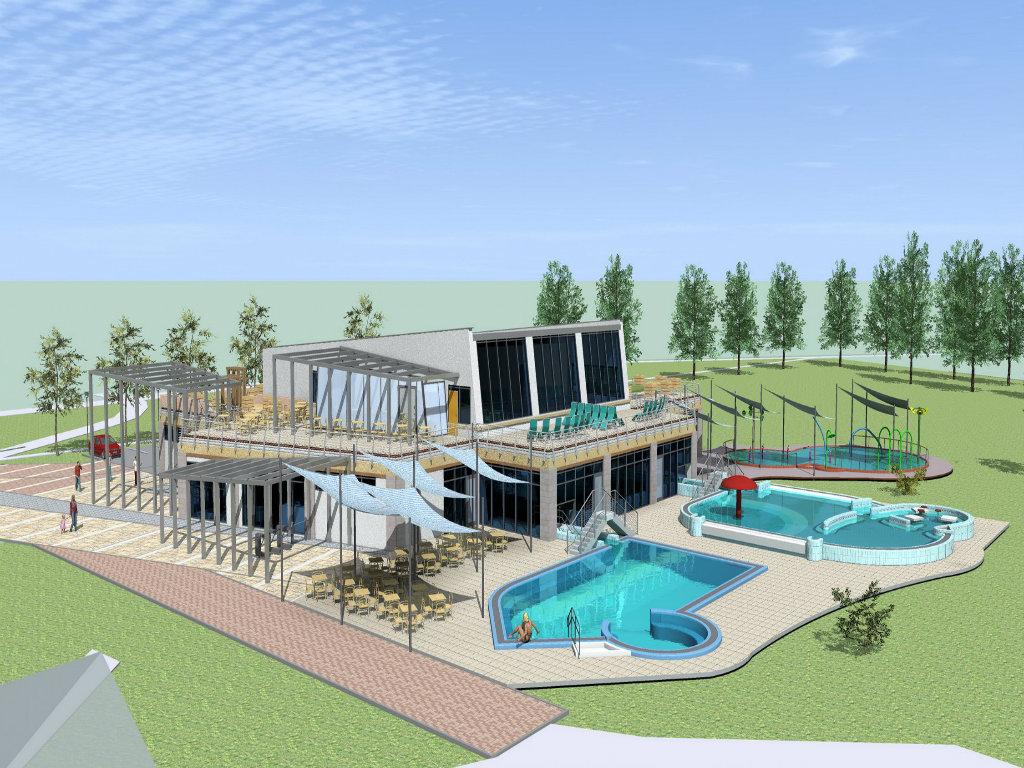 Počinje gradnja wellness centra u Adi - Oaza za odmor na 2.300 m2 vredna 438 miliona dinara (FOTO)