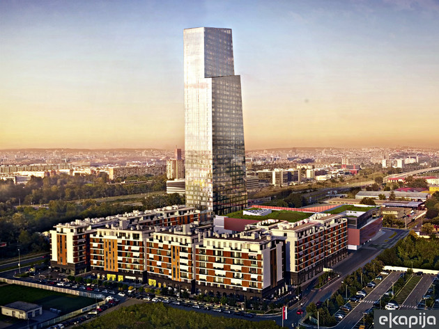 Tallest building in the region, West 65 Tower, to be completed in late June 2021